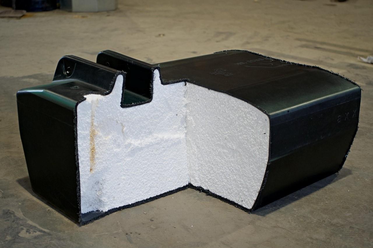 Laiturikelluke josta on helppo valmistaa laituri